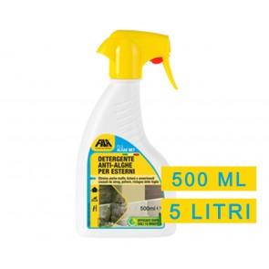 Detergente rapido per Esterni FILA ALGAE NET ANTI-ALGHE 500ml e 5 litri