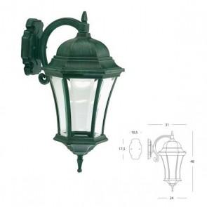 Applique in Basso Art. 874/32 Nero/Verde