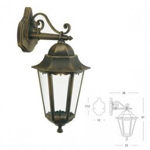 Applique in Basso Art. 3011/42 Nero/Oro