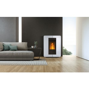 Stufa a Pellet ad Aria Canalizzabile KLOVER ASTRA MULTI AIR 8,9kW 235m³