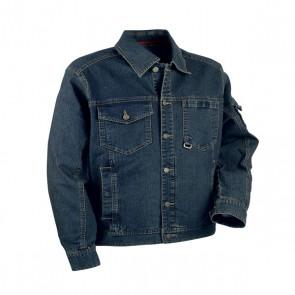 Giacca di Jeans Lavoro Antifortunistica Cofra Basel