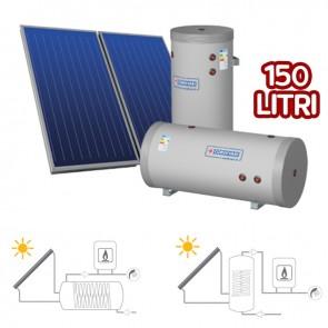 Pannello Solare Sistema Termico Circolazione Forzata Cordivari BM 300 2x2,5 Acqua Calda Sanitaria