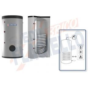 Cordivari Bollitore Polywarm Bolly 1 ST WC da 800 a 1500 con 1 Scambiatore Fisso per produzione di Acqua Calda Sanitaria a Coibentazione Morbida Smontabile