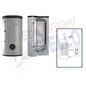 Cordivari Bollitore Polywarm Bolly 1 XL WB da 200 a 1000 con 1 Scambiatore Fisso per produzione di Acqua Calda Sanitaria a Coibentazione Rigida