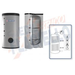 Cordivari Bollitore Polywarm Bolly 2 XL WB da 200 a 500 con 1 Scambiatore Fisso per produzione di Acqua Calda Sanitaria a Coibentazione Rigida