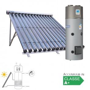 Pannello Solare Sistema Termico Circolazione Forzata Cordivari BOLLYTERM HP 2 CVT 300 2x15 Acqua Calda Sanitaria