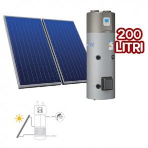 Sistema Termico Cordivari BOLLYTERM HP 1 200 2X2,5 Circolazione Forzata con Scaldacqua a pompa di calore