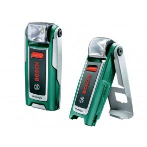Torcia a batteria Bosch WorkLight con batteria al litio 3,6 V e caricabatteria