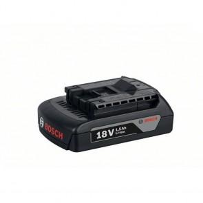 Bosch Batteria GBA 18 V 1,5 Ah M-A Professional Capacità 1,5ah