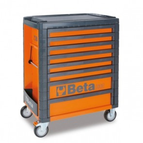 BETA CASSETTIERA MOBILE 8 CASSETTI C33/8 ORANGE/GREY/RED