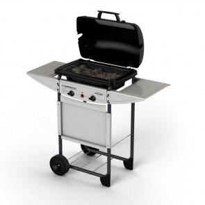 Barbecue a gas Campingaz Expert Plus bruciatori acciaio e proccia lavica