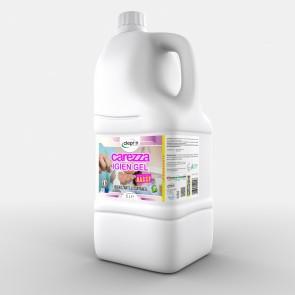 Carezza Igien Gel 5Lt Igienizzante Istantaneo Disinfettante Base Alcool 66%