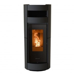 Stufa a Pellet Ermetica Thermorossi Chic Supreme Natural AIR 14,4kW Stagna