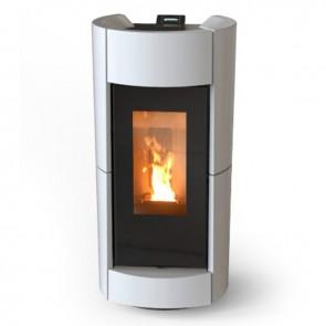 Stufa a Legna Canalizzabile Thermorossi Chic Wood HP 9,8kW ad Alta Efficienza