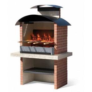 Barbecue in Muratura Carbonella e Legno BBQ SUNDAY COLORADO CRYSTAL