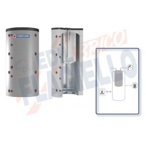Cordivari Termoaccumulatore Combi 1 WC da 800 a 2000 per accumulo di Acqua di Riscaldamento e produzione di Acqua Calda Sanitaria in Polywarm a Coibentazione Morbida Smontabile