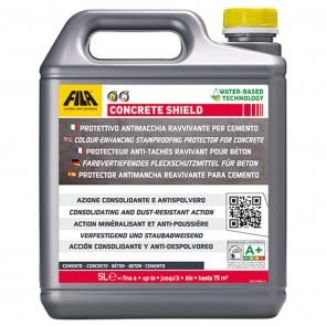 Protettivo Antimacchia Ravvivante per Cemento FILA CONCRETE SHIELD 5 LT