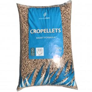 Pellet per Stufe CROPELLETS in sacchi da 15kg  - pedana da 80 sacchi