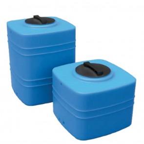 Serbatoio da esterno polietilene stoccaggio acqua CUBO Q200 Rototec litri 200