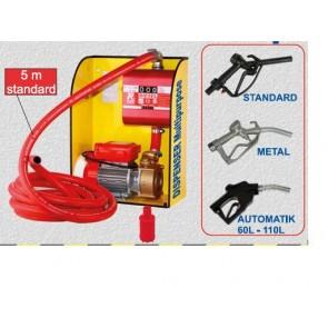 Pompa elettrica da travaso Dispenser Multipurpose con contalitri ROVER BE-M 25 PER GASOLIO DIESEL - pompetta elettropompa