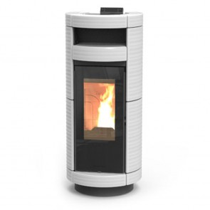 Stufa a Pellet Thermorossi Dorica Supreme Maiolica Natural PLUS 14,4kW