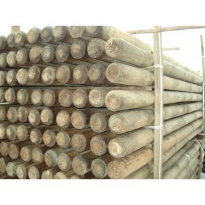 Palo in legno pino tornito per staccionata steccato VARIE MISURE