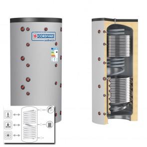 Cordivari Termoaccumulatore ECO COMBI 3 VB 500 a 2000 RIGIDA 1 Scambiatore Fisso