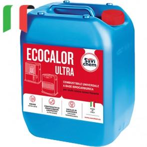 Combustibile Idrocarburico Liquido Savichem Ecocalor ULTRA 18 litri TAPPO ROSSO