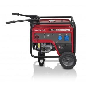 Generatore Honda EM 5500CXS PROFESSIONALE iGX390 - i-AVR - Avviamento elettrico e manuale - Batteria - Trolley