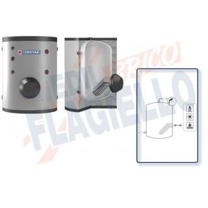 Cordivari Bollitore Polywarm Extra 1 Compact WXC da 1500 a 4000 con 1 Scambiatore Estraibile in Acciaio INOX 316L per produzione di Acqua Calda Sanitaria a Coibentazione Morbida Smontabile