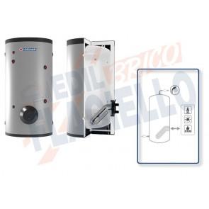 Cordivari Bollitore Polywarm Extra 1 WXB da 200 a 2000 con 1 Scambiatore Estraibile in Acciaio INOX 316L per produzione di Acqua Calda Sanitaria a Coibentazione Rigida