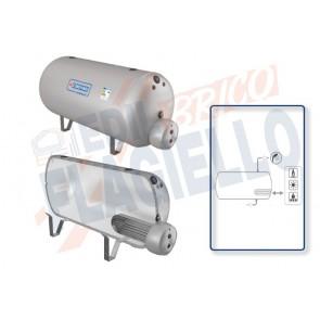 Cordivari Bollitore Polywarm Extra 1 WXC OR da 200 a 5000 con 1 Scambiatore Estraibile in Acciaio INOX 316L per produzione di Acqua Calda Sanitaria a Coibentazione Morbida Smontabile