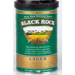 MALTO BIRRA BLACK ROCK EAST LAGER KG.1.7 BIRRA IN CASA