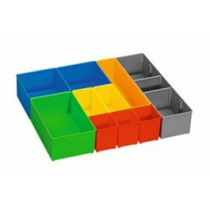 Bosch Set 10 vaschette porta accessori per i-BOXX 72