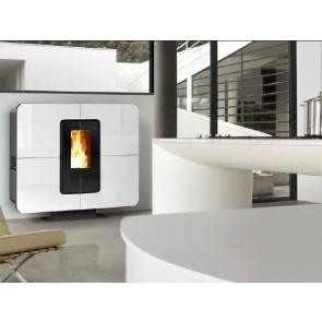 Stufa a Pellet  ARIA Canalizzabile THERMOROSSI SlimQuadro 11 kW