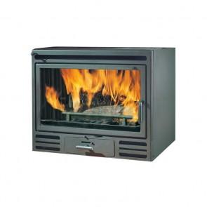 Inserto a Legna EDILKAMIN FIREBOX RIGA 49-54 9,6kW Ventilazione Forzata Destro, Sinistro o Frontale