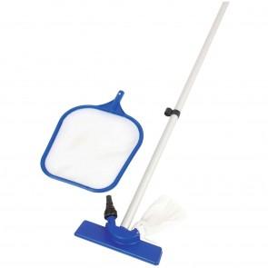 Kit Pulizia Standard 254 Bestway 58098 per Piscine Diametro 422 A Cm 549 360 Azzurro/Bianco
