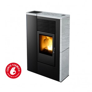 Stufa a Pellet ad Aria MCZ FLAIR Comfort Air 8 kW Canalizzabile