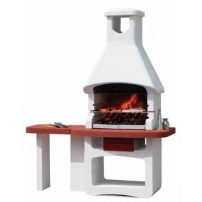 Barbecue in Muratura Carbonella e Legno BBQ SUNDAY GRANADA 67x40