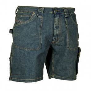 Pantaloncino di Jeans Lavoro Antifortunistica Cofra Havana
