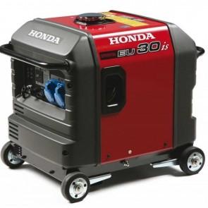 Generatore Elettrico a Motore OHV a 4 Tempi 196cc Honda EU30IS1 B A6 da 3000W Monofase Inverter