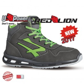 Scarpe Antinfortunistica Alte UPOWER Red Lion HUMMER S3 SRC dal 35 al 48