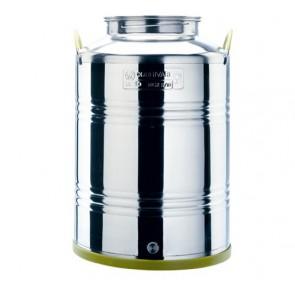 Cordivari Jolly Contenitore in acciaio Inox 100 LT per olio