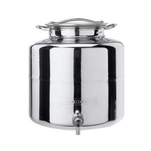 Cordivari Anforella Contenitore in acciaio Inox 15 LT per olio