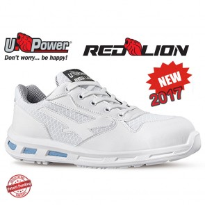 Scarpe Antinfortunistica Bianche Basse UPOWER Red Lion JUNE S1 SRC dal 35 al 46