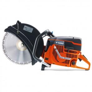 """Mototroncatrice HUSQVARNA K 1260 16"""" Cilindrata 118.8  disco 400 mm"""