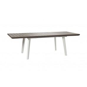 Tavolo da Esterno per Giardino KETER Harmony Extendable Table Crema Estendibile 10 persone