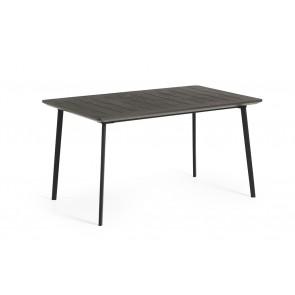 Tavolo da Esterno KETER METALEA TABLE CAST IRON 146x87x75 cm per Giardino