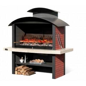 Barbecue in Muratura Carbonella e Legno BBQ SUNDAY KANSAS CRYSTAL
