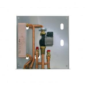 KIT 2 - Kit Installazione Termostufa o Termocamino a Legna Abbinata a Caldaia a Gas senza Produzione Acqua Sanitaria